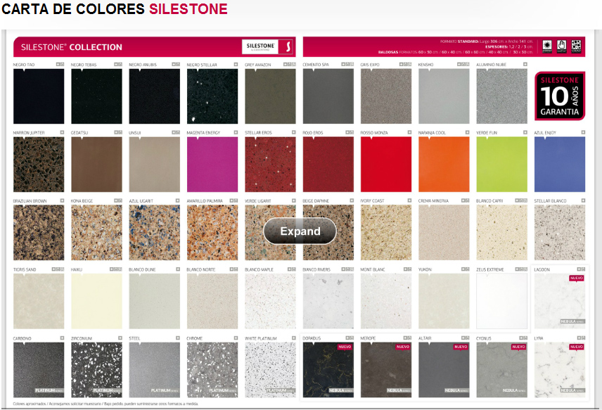 Silestone agape stone products en for Encimeras silestone colores